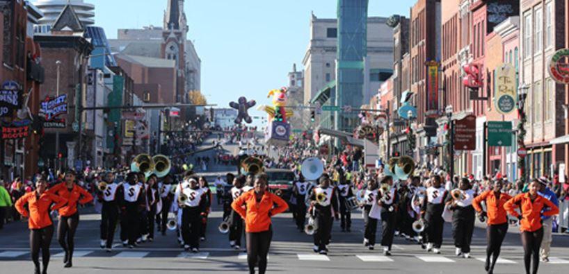 The Nashville Christmas Parade