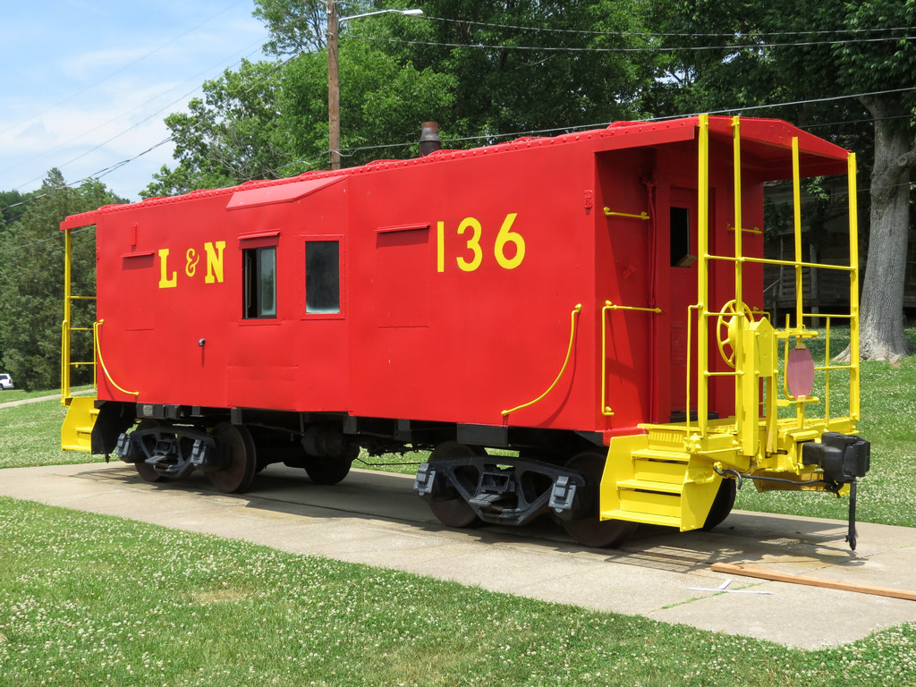 Red Caboose Playground Rebuild