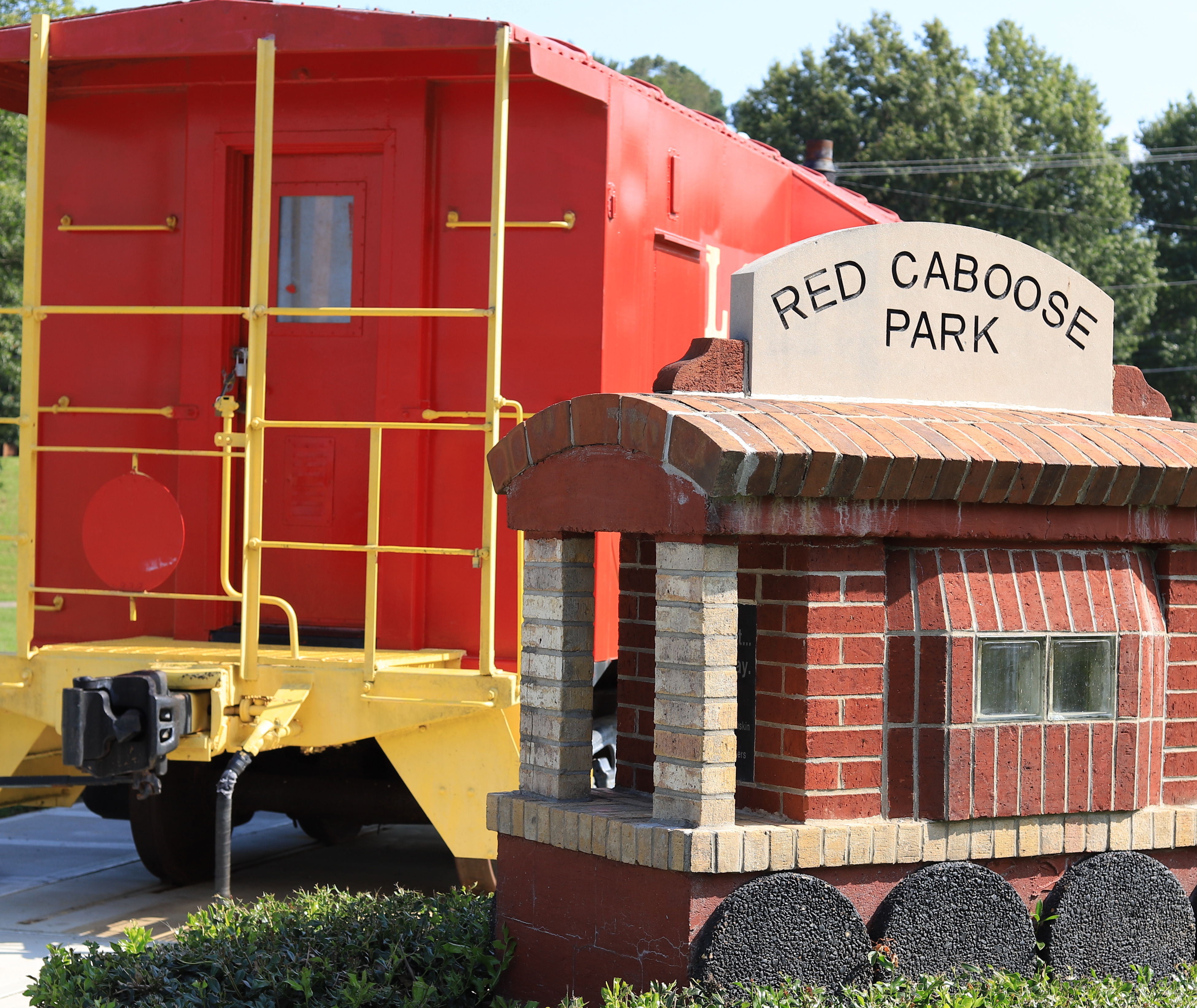 ALL ABOARD! Renovations Complete at Red Caboose Park