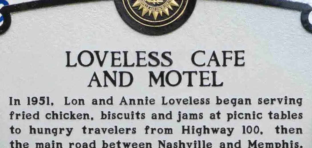 The Loveless Café Receives Historical Marker